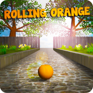 Rolling Orange Icon