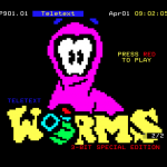 Do you remember Teletext Worms?